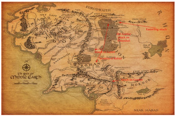 middle-earth total war