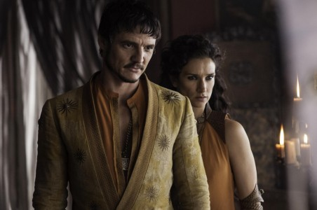 Pedro-Pascal-as-Oberyn-Martell-Indira-Varma-as-Ellaria-Sand_photo-Helen-Sloan_HBO-1024x681
