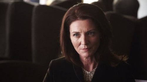 Michelle Fairley, aka Catelyn Stark, as the most recent alpha-terrorist on 24. See? I told them there's be serious blowback from the Red Wedding.