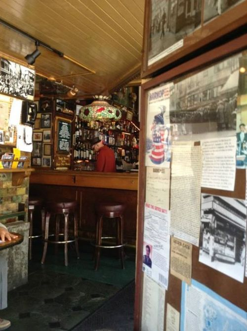 The view from my seat in Vesuvio.