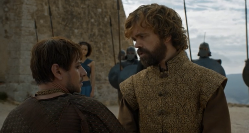 The Battle of Bastards (Game of thrones, saison 6 épisode 9) Tyrion_slaver