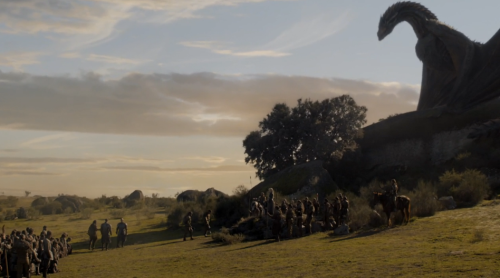 dany-drogon-lannisters
