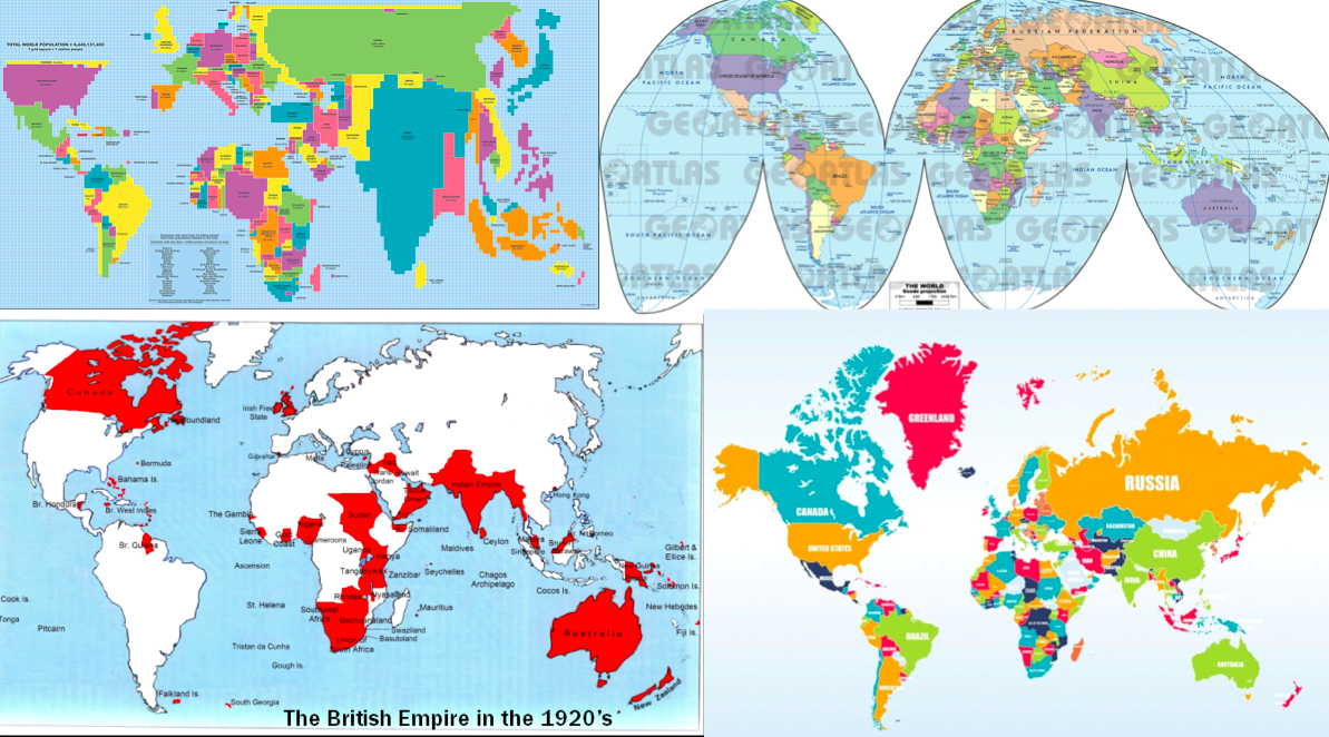 4 - world maps
