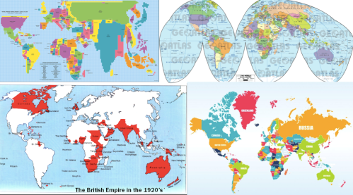 4 - world maps